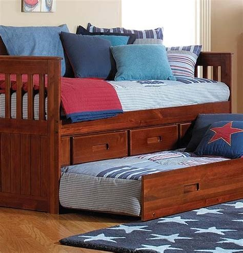 twin rake bed with 3 drawers and trundle twin merlot rake bed w storage or trundle and storage