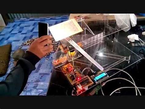 Alat Pemberi Pakan Ikan Otomatis Berbasis Arduino prototipe jemuran otomatis menggunakan stepper berbasis