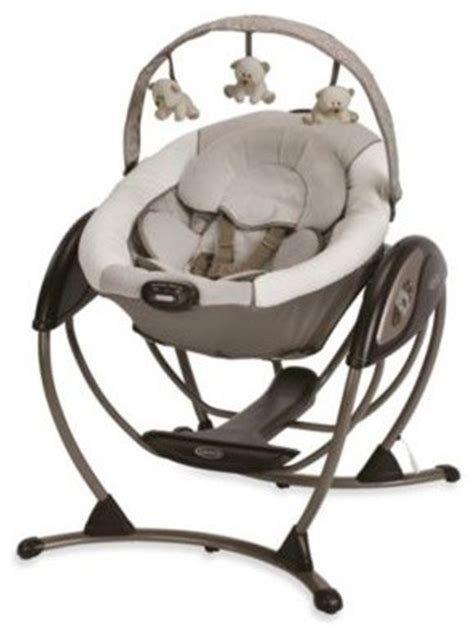 graco glider swing and bouncer graco glider lx gliding swing in paris contemporary