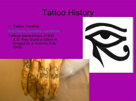 tattoo history timeline tatto power point presentation