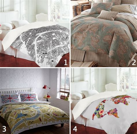 map comforter map bedding from defining elegance obsessions pinterest