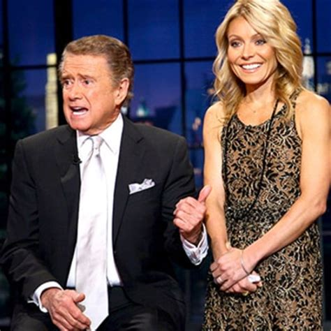 kelly ripa i havent kept in touch with regis ny daily news celeb sightings regis philbin and kathie lee gifford