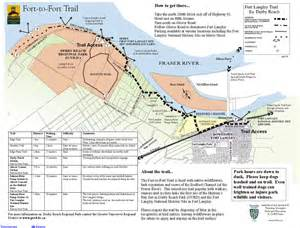 langley canada map 3 fort to fort trail let s go biking