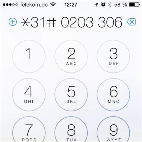 Direct Line Telefonnummer by Iphone Rufnummer Unterdr 252 Cken Nur Beim N 228 Chsten Anruf
