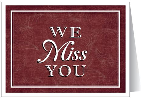 free printable greeting cards miss you we missed you at church