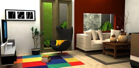 desain interior ruang keluarga dalam rumah minimalis