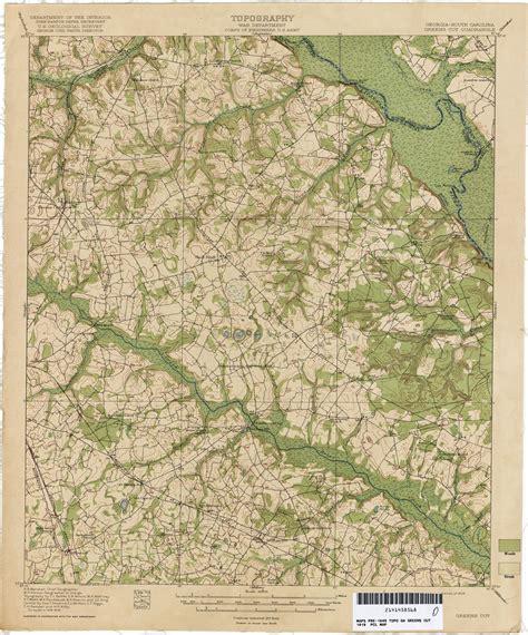 carolina topographic map south carolina historical topographic maps perry
