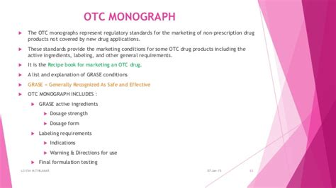otc drug review drug amendent copy right patent and trade