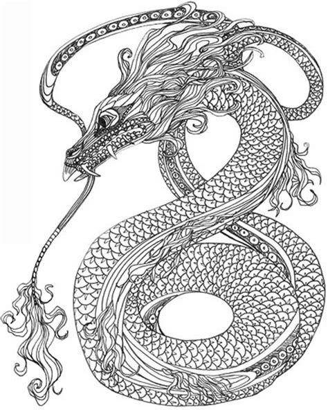 Coloriage 224 Imprimer Animaux Reptiles Serpent Num 233 Ro