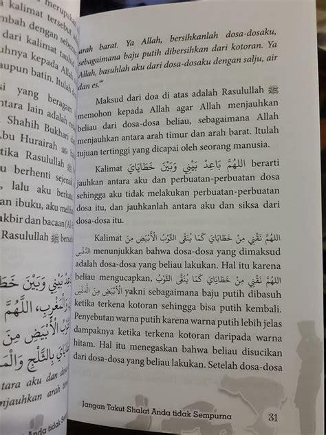 Buku Seru Shalatpedia Tuntunan Bacaan Dan Gerakan Shalat Yang Khusyu buku jangan takut shalat anda tidak sempurna toko muslim title