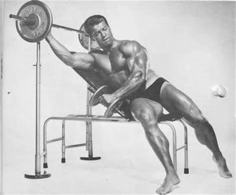 steve reeves bench press compendium of old school exercises part one shoulders