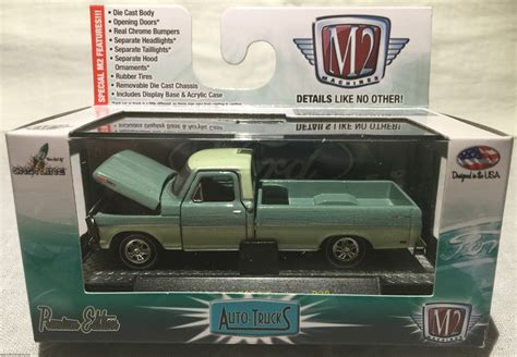 Mainan Diecast M2 Machines 1969 Ford F 250 Truck out of the box m2 machines auto trucks release 32 world customs