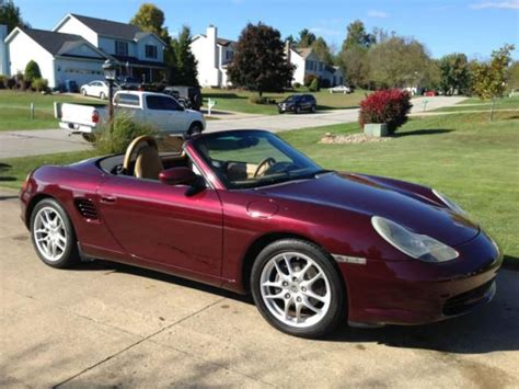 sell used 2004 porsche boxster in seven mile ohio united states for us 7 000 00