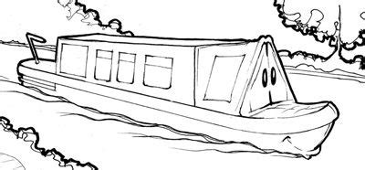 boat drawing activity canal boats drawings google search transience
