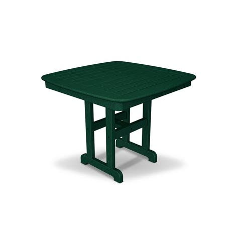 Patio Table Encore Club Trex Outdoor Furniture Yacht Club 37 In Rainforest Canopy