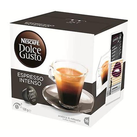 Nescafe Dolce Gusto Capsule Espresso Intenso 16s 16 capsule nescafe dolce gusto espresso intenso