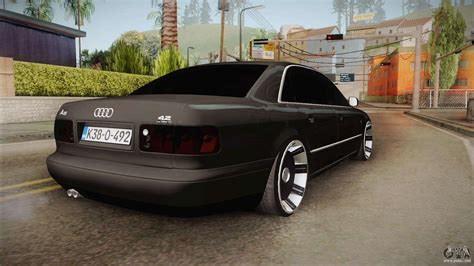 Audi A8 S8 by Audi A8 S8 D2 Lowstance For Gta San Andreas