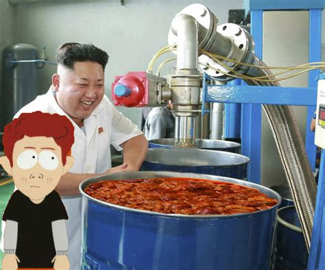 Meme Factory - kim jong un visited a lube factory and of course it
