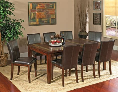 slate dining room table dining table slate inlay dining table