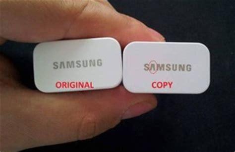 Perbedaan Kabel Data Samsung Ori Dan Kw tips cara membedakan charger samsung asli dan palsu info