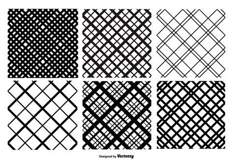 pattern hatch illustrator crosshatch vector pattern set download free vector art