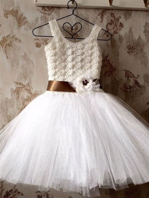 White Flower Crochet Dress 25 best ideas about crochet tutu on crochet