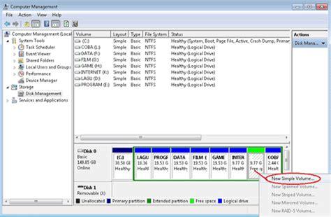 format hardisk laptop baru cara membagi partisi hardisk sendiri dengan aman r share