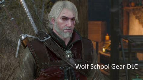 witcher 3 wolf location school gear wolf school gear dlc the witcher 3 wild hunt youtube