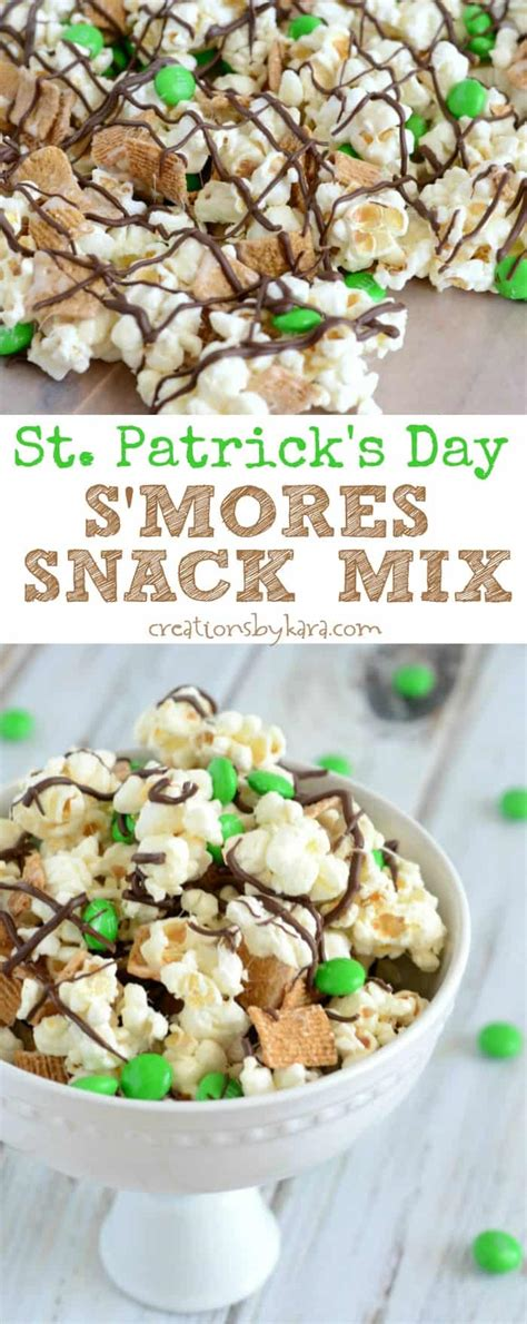 s day snacks st s day s more snack mix creations by kara