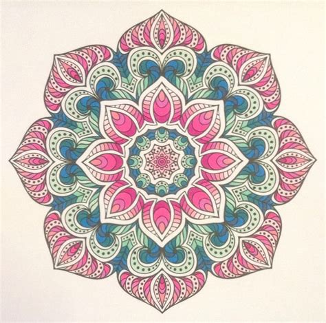 mandala coloring book with markers 21 best color coloring inspiration images on