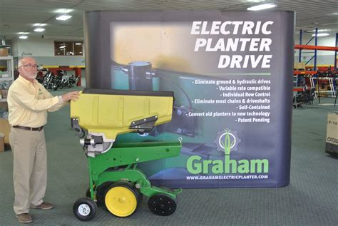 Electric Planter Drives by Deere 7200 Graham Planter