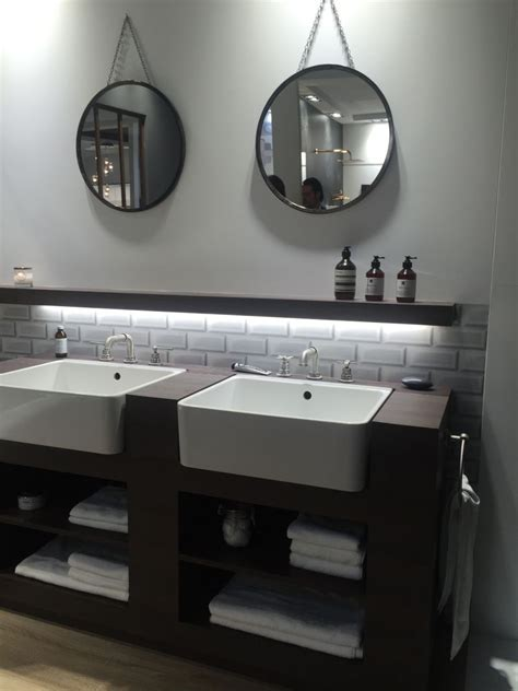 industrial bathroom sink how to pick the best double sink bathroom vanity