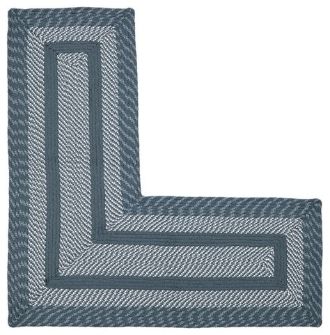 l shaped rugs shop houzz better trends newport braided l shaped rug 20
