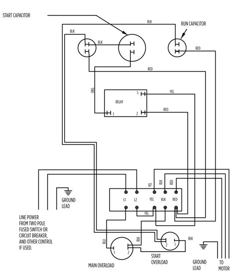 wiring diagram shallow well jet well wiring