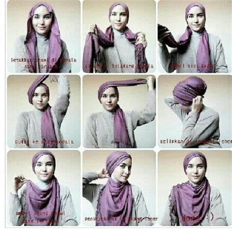 tutorial hijab turban kepang 109 best images about scarf hijab tutorial on pinterest