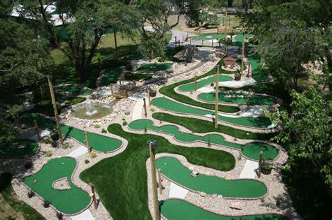 backyard putt putt course mini golf course ideas strange miniature golf courses