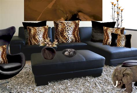 leopard home decor leopard decor for living room peenmedia com