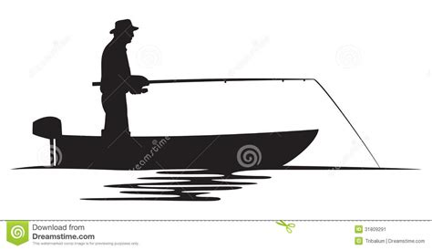 fishing boat silhouette clip art fishing from boat silhouette clipart