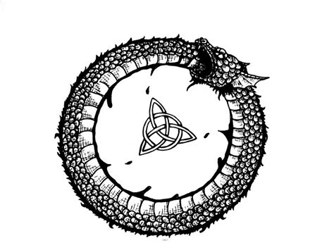 ouroboros by ilovelucy365 on deviantart