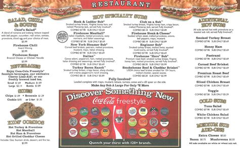 Submarine House Menu by Firehouse Subs Menu Menu For Firehouse Subs Jonesboro Jonesboro Urbanspoon Zomato