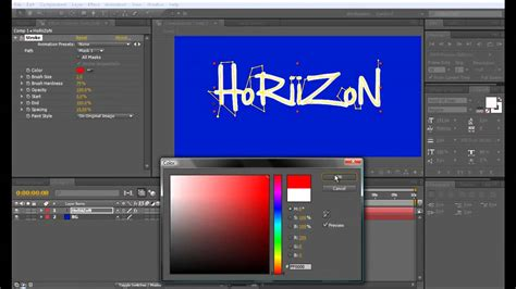 tutorial adobe after effect youtube adobe after effects tutorial drawing in effect youtube