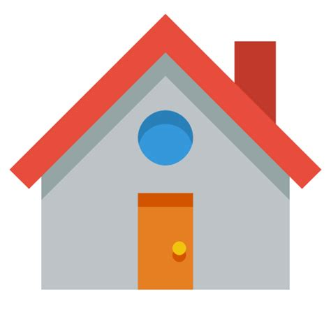 Small Icon For Home House Icon Small Flat Iconset Paomedia