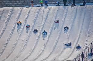 snow tubing group fun returns when beach mountain opens on
