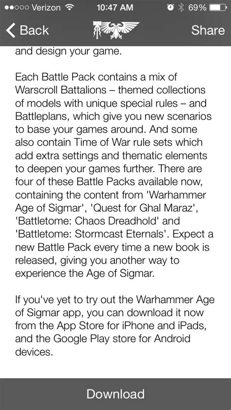 Battle Packs- Expanding the Age of Sigmar App - Faeit 212