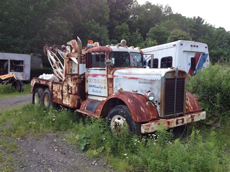 old kenworth trucks lost and found kenworth tow trucks pinterest tow