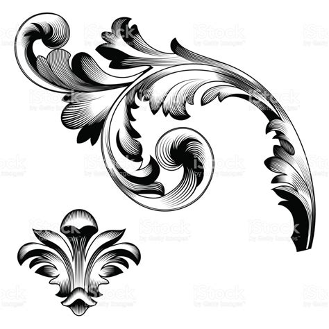 free baroque design elements vector baroque vector vintage elements for design decorative