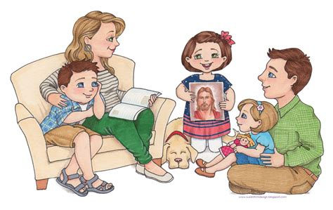 Family Home Evening Clipart susan fitch design family home evening