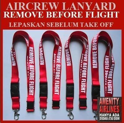 Lanyard Gantungan Resleting buy lanyard aircrew tali gantungan id card remove before flight deals for only rp45 000