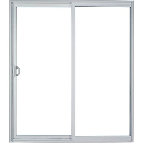 60 Sliding Glass Patio Door Sliding Patio Door 60 Quot X 80 Quot White Heeby S Surplus Inc