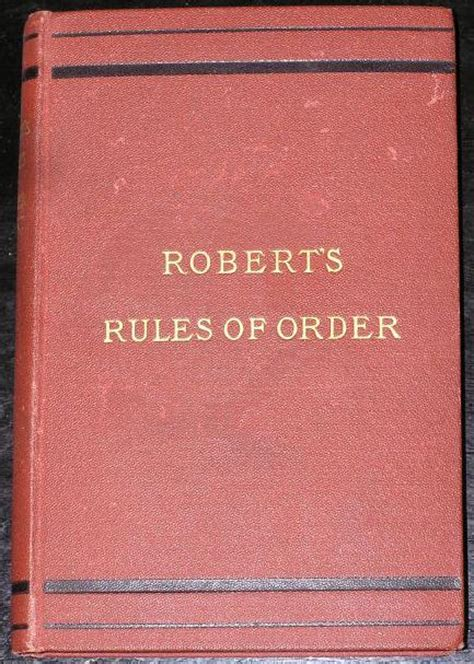 note 39 s and comments on robert 39 s rules massachusetts